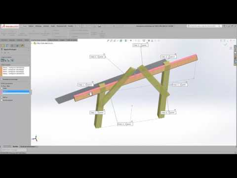 Conception d'un abri de voiture avec SolidWorks   A-S3D