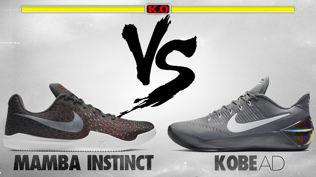 Nike Mamba Instinct vs Kobe A.D.! - YouTube 9549b8fcfe52