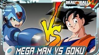 Mega Man VS Goku - Capcom VS Dragon Ball Xenoverse mod