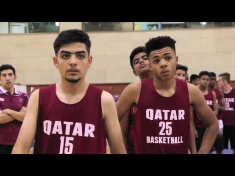 International U15 Basketball Camp Qatar 2016