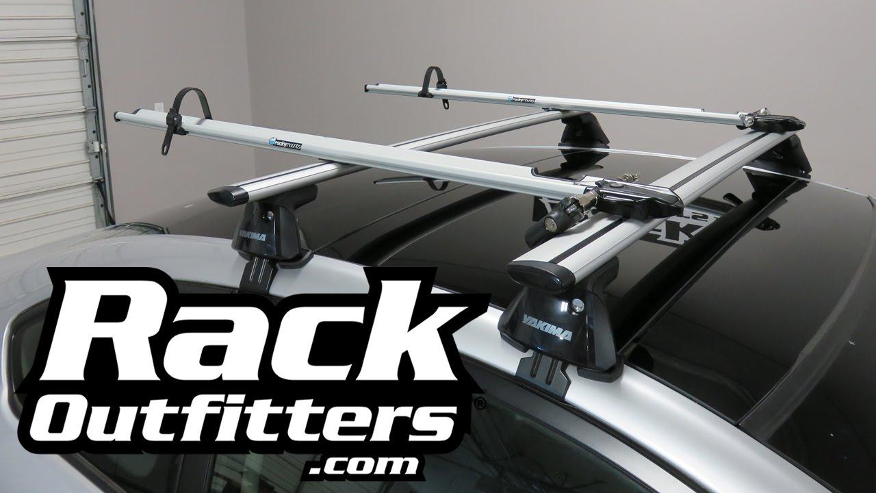 Scion TC With RockyMounts JetLine Fork Mount Bike Carrier Racks