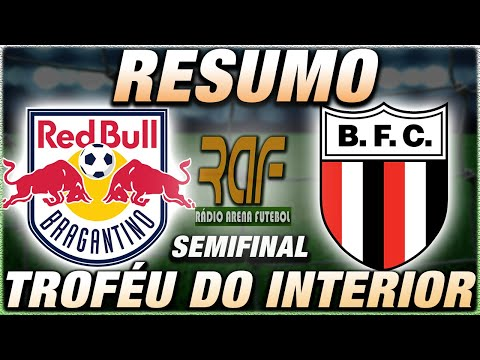 Bragantino x Botafogo-SP Ao Vivo l Troféu do Interior l Semifinal l Narração