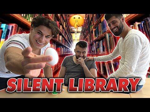 SCHLÄGE in der UNI von MMA KÄMPFER bekommen?! 😱 #Silent Library l Yavi TV