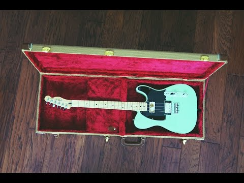 Fender Special Edition HH Standard Telecaster- Sea Foam Pearl (Unboxing and Tone Test)