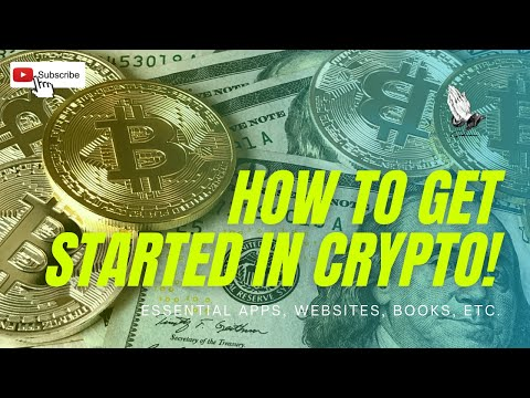 How to get started in cryptocurrency markets! | Essential apps, websites, books, news, blogs, etc.