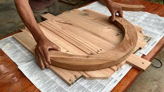 Woodworking Ideas To Insṗire Everyone // How To Make A Very Beautiful And Sturdy Armchair - DIY!