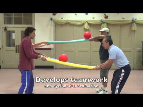 Fun Activities Using Foam Noodles Youtube