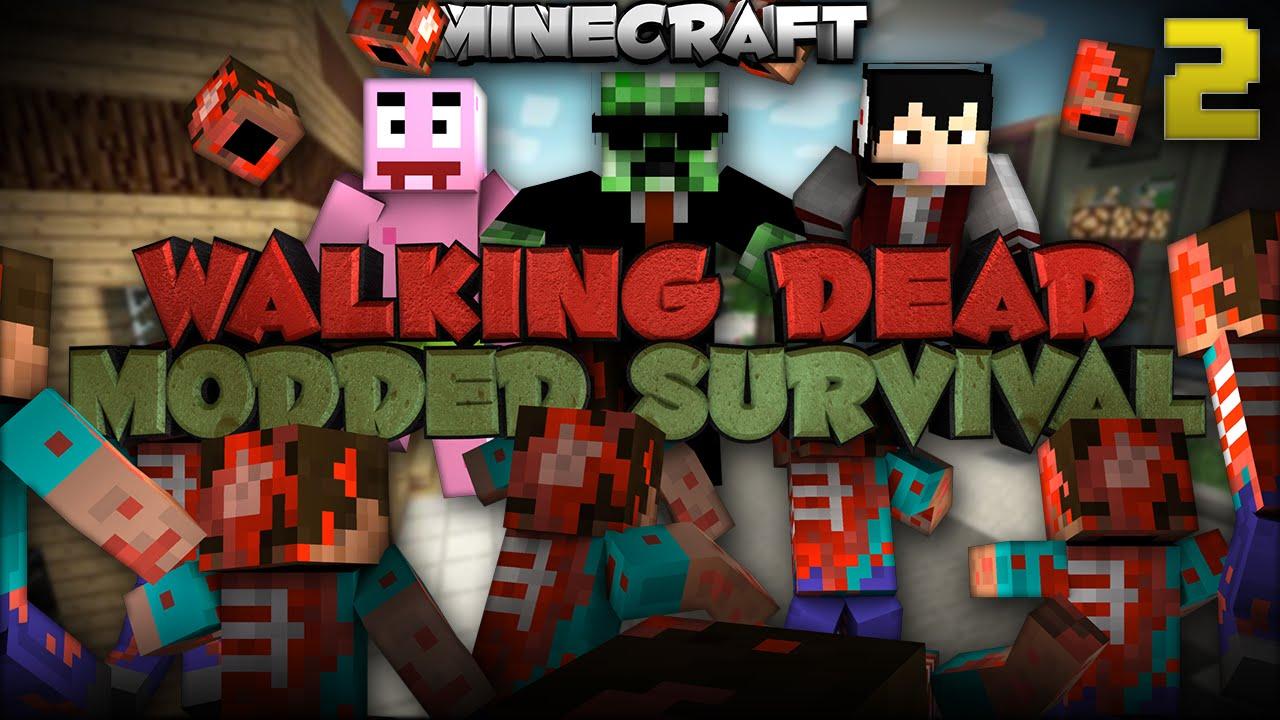 minecraft the walking dead mod download