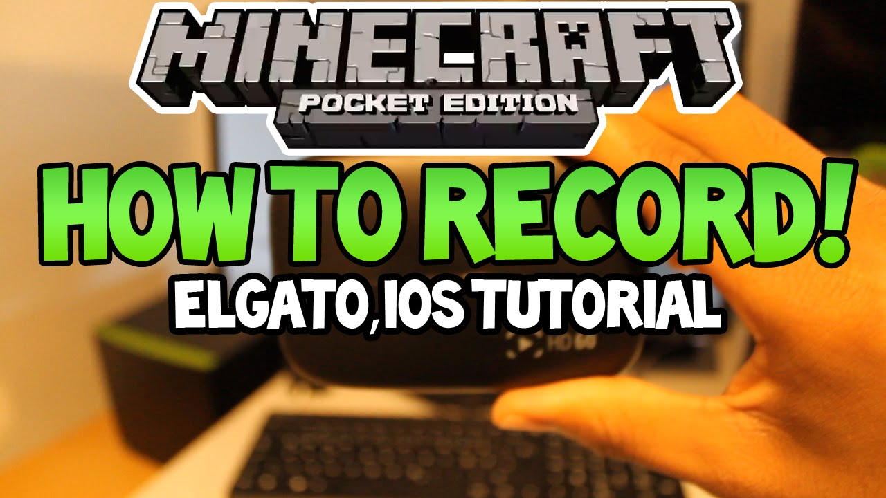 Minecraft pe how to record gameplay elgato ios ipad minecraft pe how to record gameplay elgato ios ipad android youtube baditri Image collections