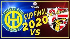 SWISS ICE HOCKEY CUP FINAL 2020 HC Ajoie vs HC Davos   NHL 20 Schweizerdeutsch