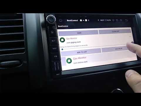Автозапуск приложений на автомагнитолах Android