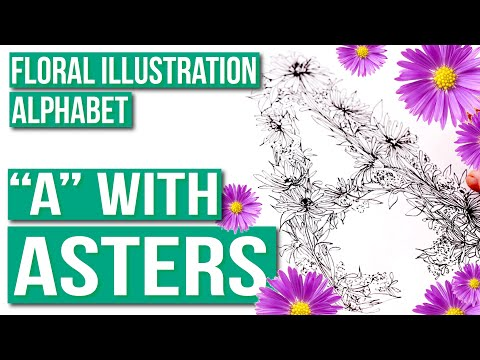 """flower-alphabet-