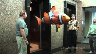 flying fish balloon