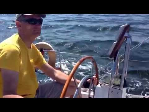 "Day trip on yacht ""Sparta"", in the gulf of Riga"
