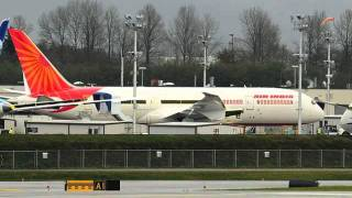 Air India 787 @ Seattle for Repaint