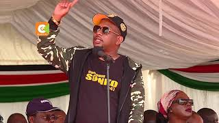 Governor Sonko throws tantrum in front of President Kenyatta