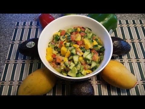 Mango and Avocado Fruit Salad