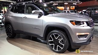 2018 Jeep Compass Limited - Exterior and Interior Walkaround - 2017 Detroit Auto Show