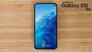 Samsung Galaxy S10 Lite - Leak Shows Very Thin Bezels