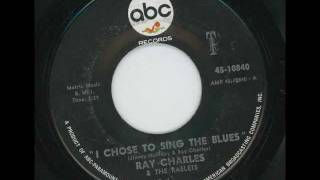 RAY CHARLES - I chose to sing the blues - ABC