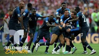 Sus ancestros no, pero ellos sí son franceses   Qué momento   Telemundo Deportes