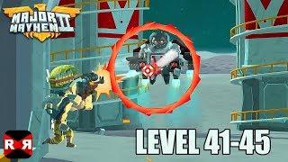 Major Mayhem 2 - Level 41-45 - iOS / Android Walkthrough Gameplay