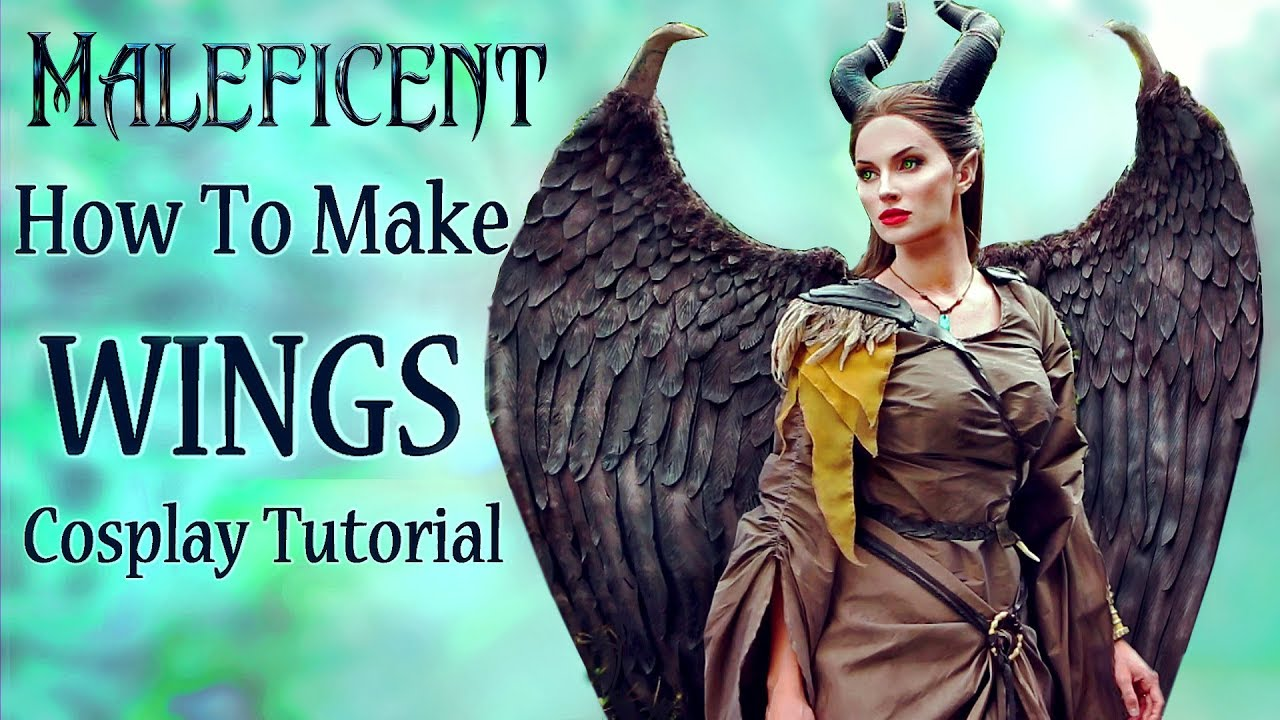How I Made My Maleficent Wings Cosplay Tutorial