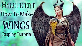 How I made my Maleficent Wings - Cosplay Tutorial