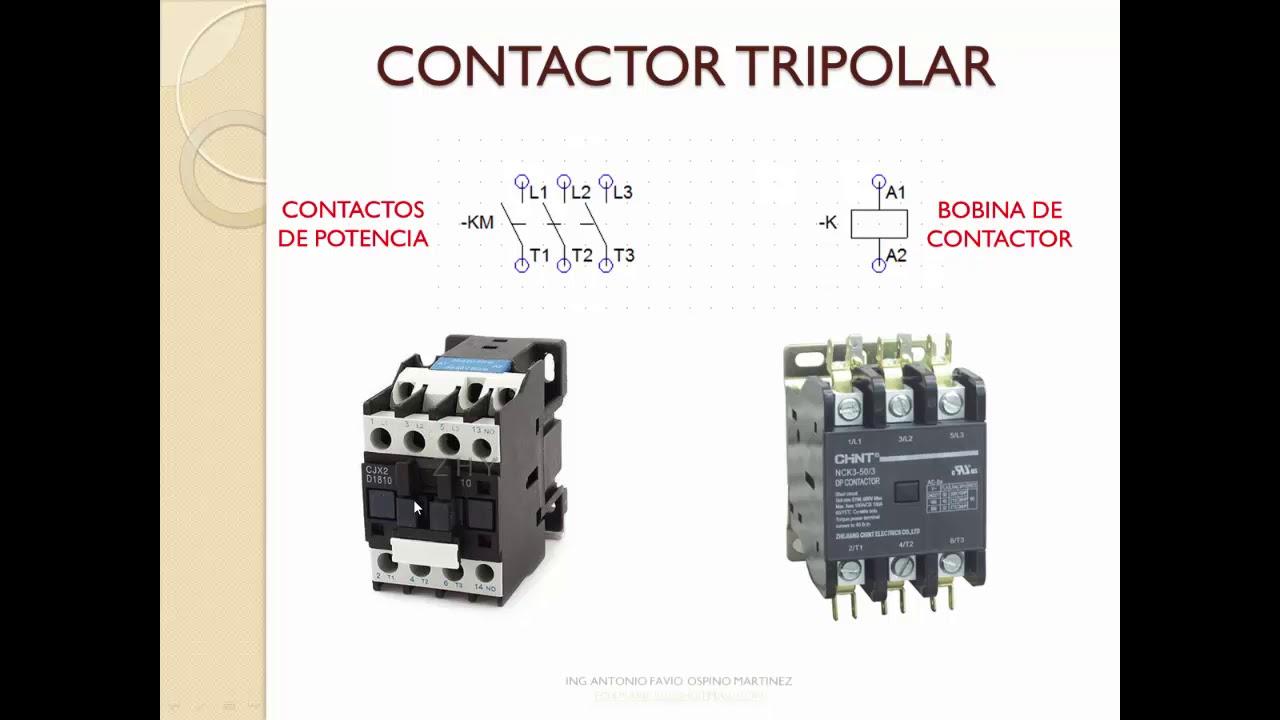 Simbologia Electrica Para Diagramas De Control Y Potencia En Refrigeracion