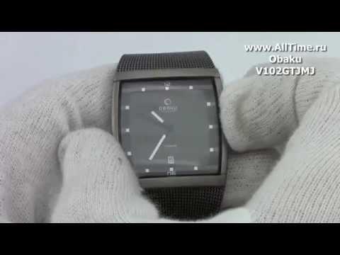 Обзор. Мужские наручные часы Obaku V102GTJMJ