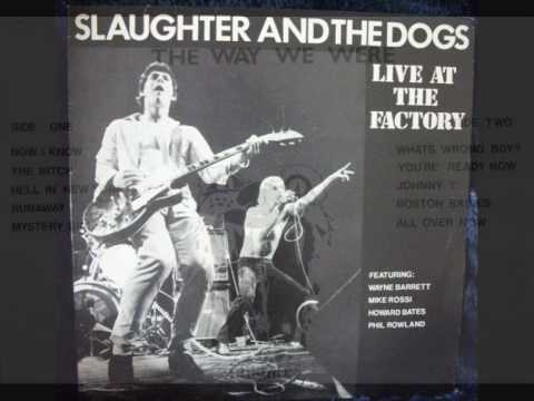 Slaughter and the Dogs - Johnny T(live)