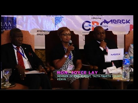 Merck More Than A Mother Campaign - Pan African Launch - Hon. Joyce Lay