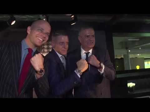 HUBLOT - BASELWORLD 2017 VISIT OF LAPO ELKANN