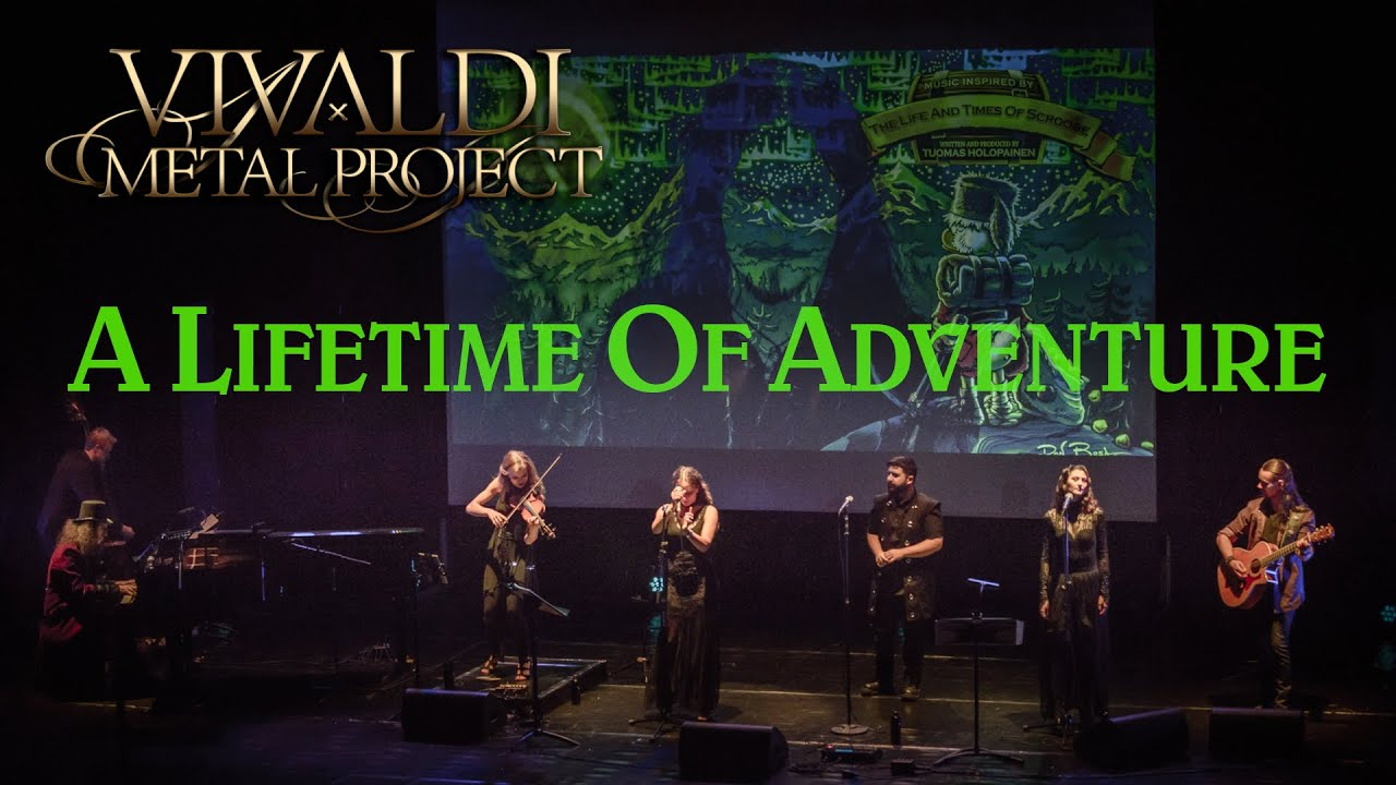 Vivaldi Metal Project - A LIFETIME OF ADVENTURE (Holopainen) - Live in Kitee 2018 [Official Video]