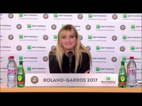 Timea Bacsinszky Press Conference RG17 - 4th of June
