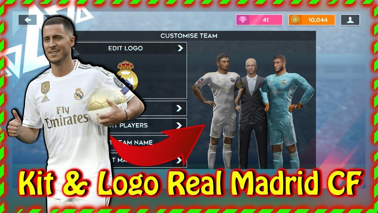 Cách thay đổi áo đấu Real Madrid CỰC CHUẨN trong dls20 | Dream League Soccer 2020| Cong Hoan DLS]