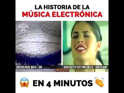 La historia de la musica electronica en 4 minutos