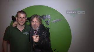 LUKE SKYWALKER ON SET OF STAR WARS - THE LAST JEDI IN MALINHEAD DONEGAL IRELAND