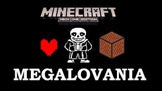 undertale megalovania minecraft xbox 360 one ps3 ps4 noteblock