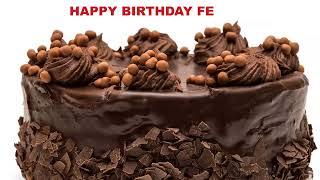 Fe - Cakes Pasteles_107 - Happy Birthday