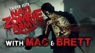 Nazi Zombie Army With Mac & Brett