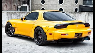 Amazing RX-7 FD3S / 13B Rotary Sounds