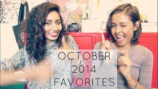 October 2014 Favorites Thumbnail