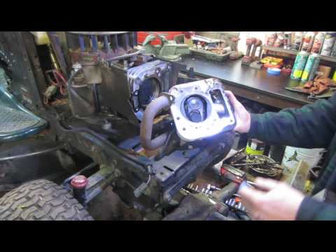 fixing a craftsman tractor with no compression.