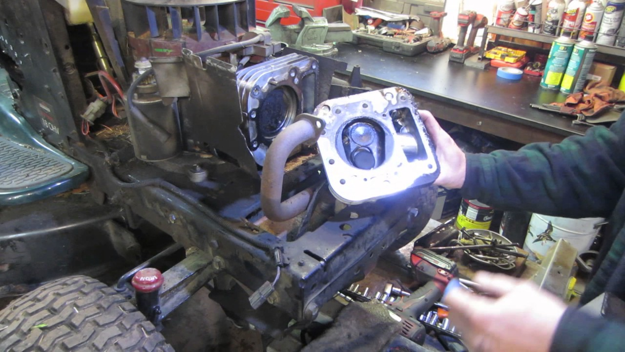 fixing a craftsman tractor with no compression