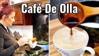 Café de Olla MEXICAN STYLE POT SWEET CINNAMON COFFEE + LATTE VERSION
