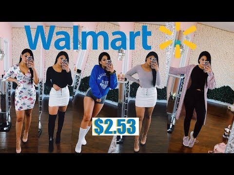 BALLING ON A BUDGET | WALMART CLOTHING TRY-ON HAUL- VALENTINES DAY EDITION