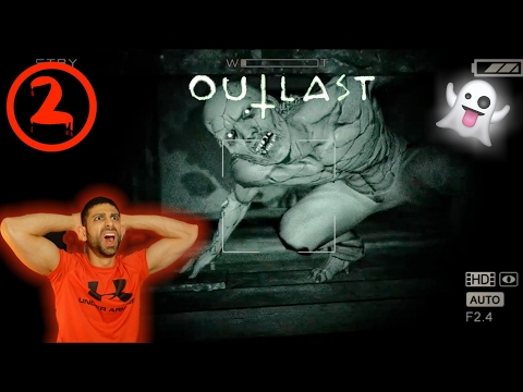 (SAVAGE MODE) OUTLAST GAMEPLAY / PLAY THROUGH PART 2 | PLAYING THE SCARIEST GAME EVER CONTINUED