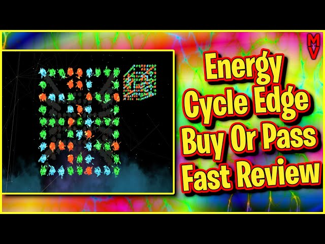 Energy Cycle Edge Why Did I Review This? || Buy or Pass Fast Review || MumblesVideos