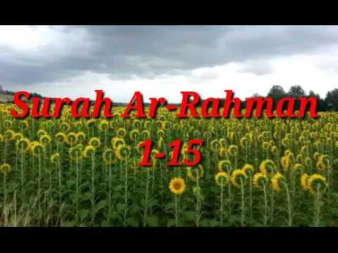 Download Lagu Surah Ar-Rahman 1-15 (Ibrohim Elhaq)
